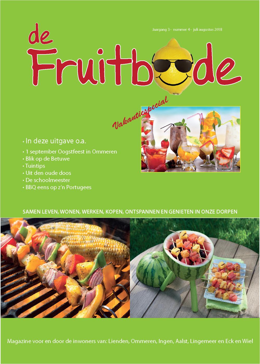 Fruitbode juli – augustus 2018