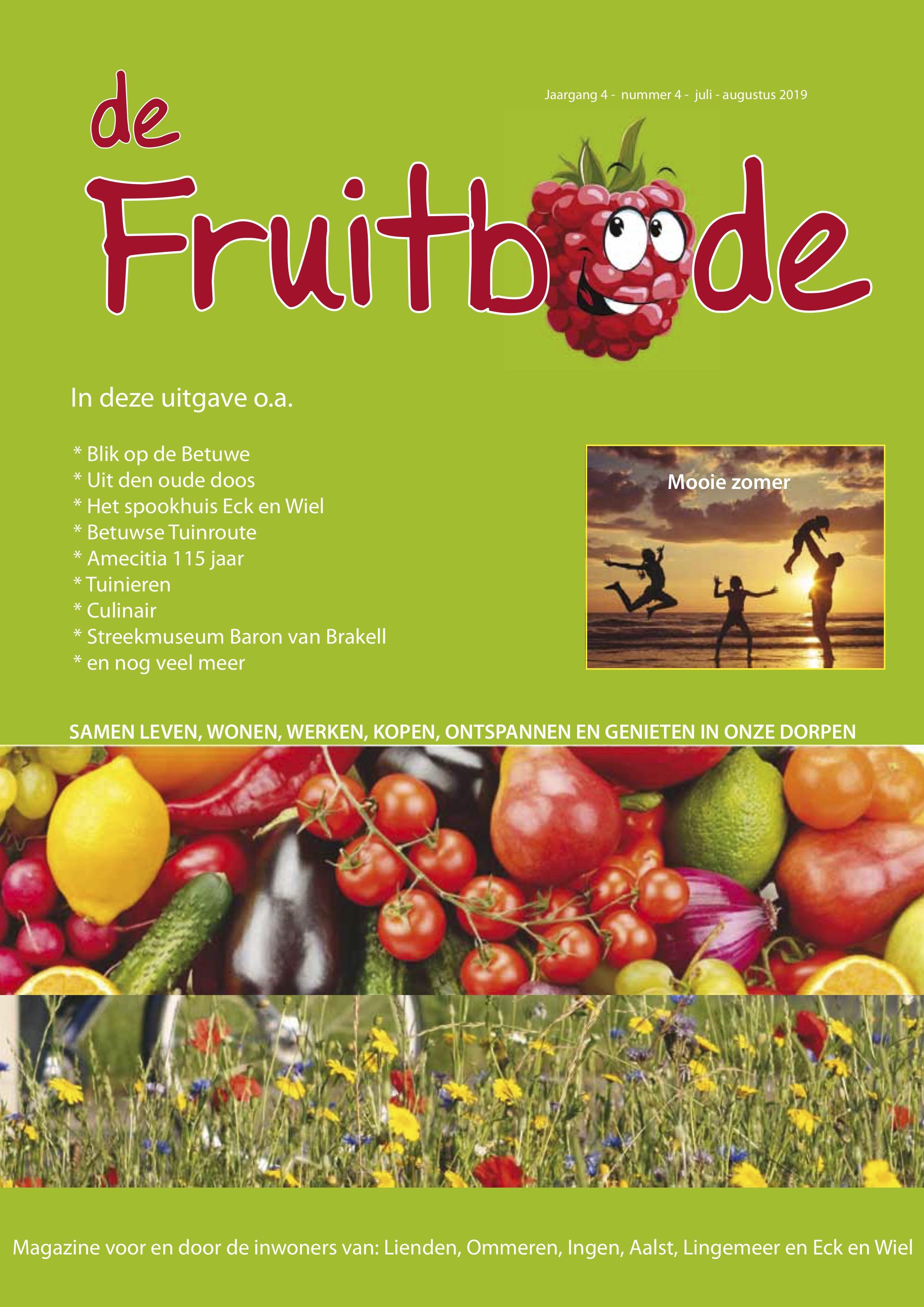 Fruitbode juli – augustus 2019