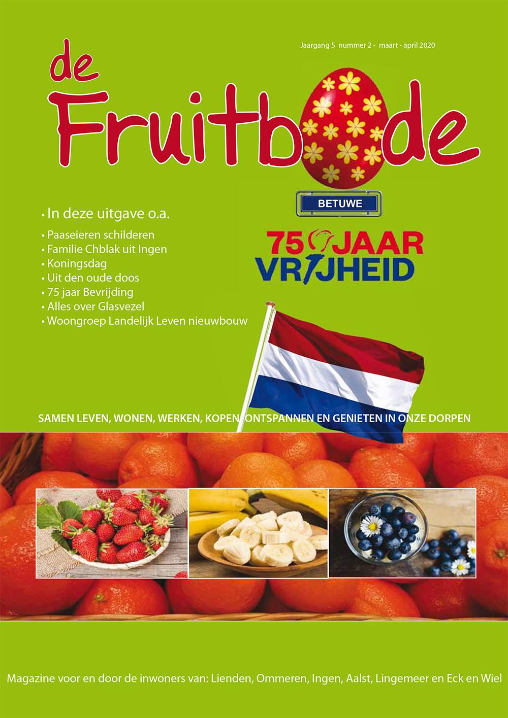 Fruitbode januari – maart  2020