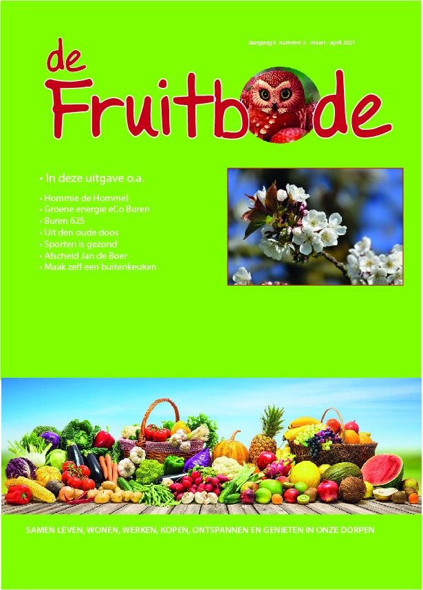 Fruitbode maart – april 2021