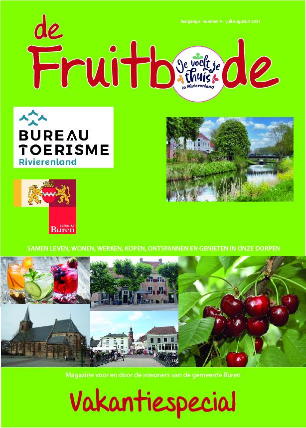 Fruitbode juli – augustus 2021