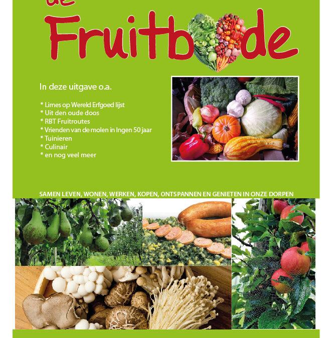 Fruitbode september – oktober 2021
